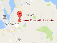A thumbnail map of Lakes Cosmetic Institute's Locaction